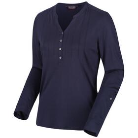 Regatta FFlur T-shirt à manches longues Femme, navy